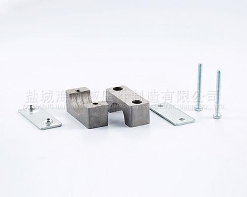 轻型铝制管夹厂家