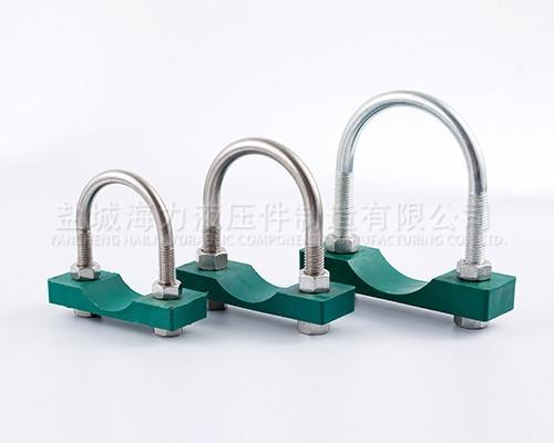 u型螺栓管夹