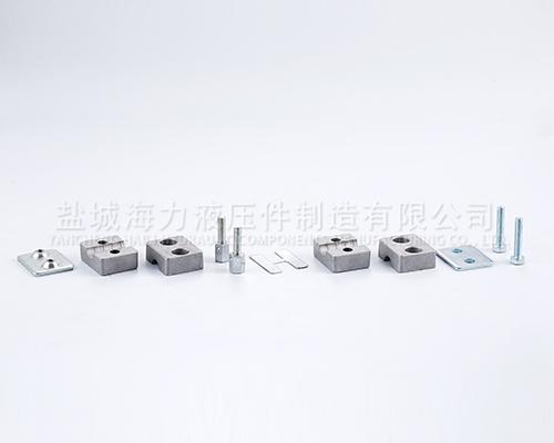双孔铝制管夹生产厂家