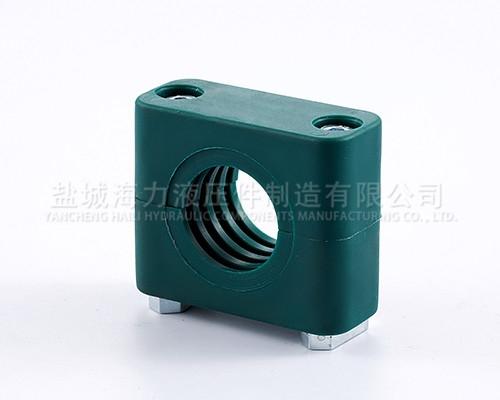 轻型单孔塑料管夹厂家