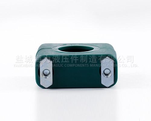 轻型单孔塑料管夹