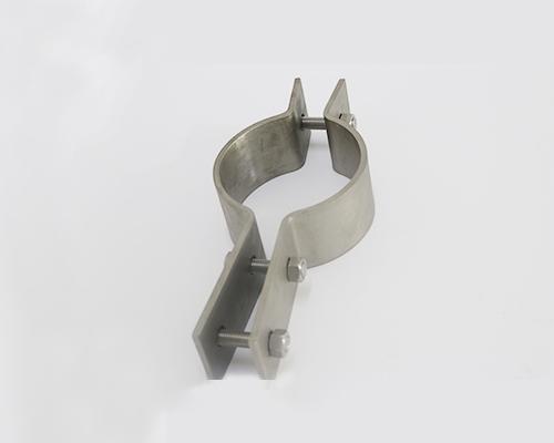 不锈钢三螺栓扁钢管夹厂家